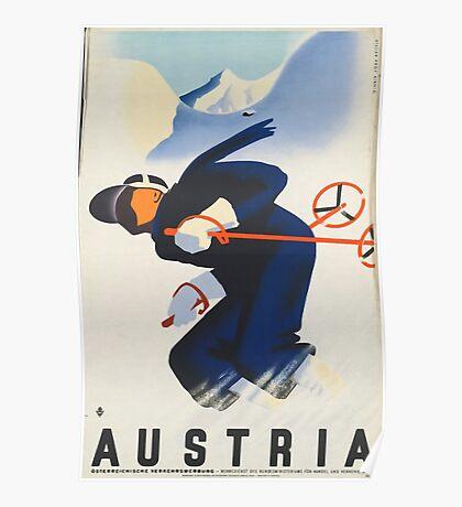 Ski Austria Poster