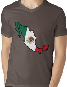 Mexico Mens V-Neck T-Shirt