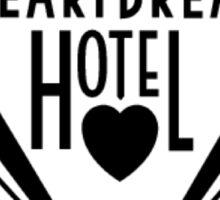 Elvis Presley's Heartbreak Hotel Sticker