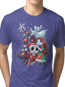 .Jack and Sally TNBC. Tri-blend T-Shirt