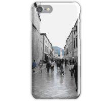 Dubrovnik - Blue street iPhone Case/Skin