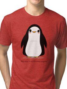 Troubled Penguins Tri-blend T-Shirt