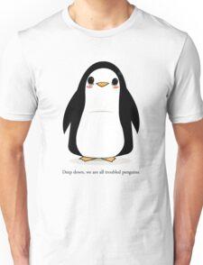 Troubled Penguins Unisex T-Shirt