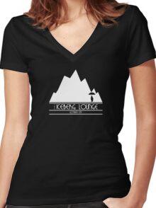 The Iceberg Lounge - Gotham Women's Fitted V-Neck T-Shirt