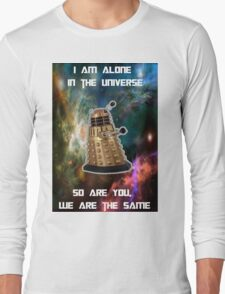 I am alone in the Universe [Nebulosa] Long Sleeve T-Shirt