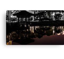 double reflection Canvas Print