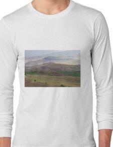 hilly landscape Long Sleeve T-Shirt