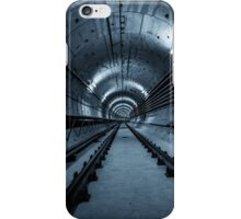 Deep metro tunnel under construction iPhone Case/Skin