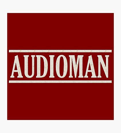 Wonderful Audioman Photographic Print
