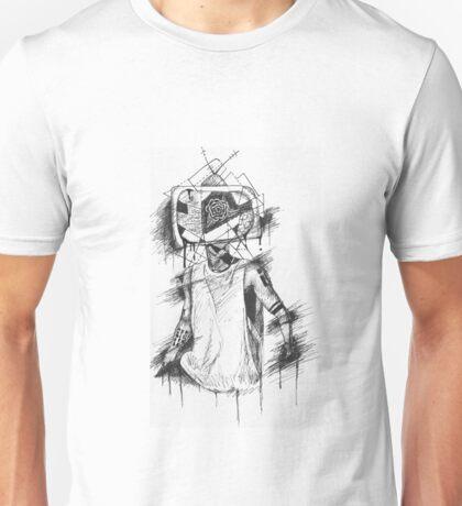 TV Head Clique Art Unisex T-Shirt