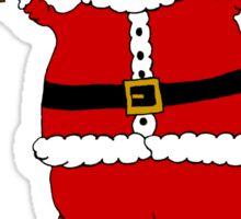 snow santa Sticker