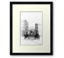 Nantes, France #1, 2014 Framed Print