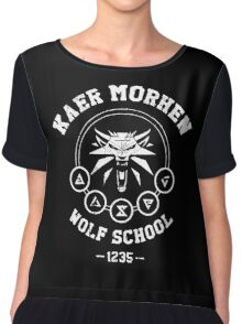 The Witcher - Kaer Morhen  Chiffon Top