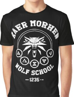 The Witcher - Kaer Morhen  Graphic T-Shirt