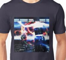 3d woman shooting Unisex T-Shirt