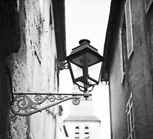 French street lamp by Indea Vanmerllin