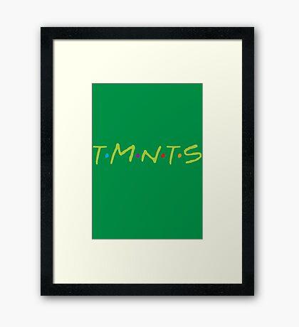 TMNTS Framed Print