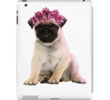 Hipster Pug Puppy iPad Case/Skin