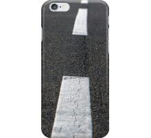 Asphalt of a road closeup photo iPhone Case/Skin