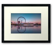 London Reflections Framed Print