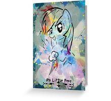 RainbowDash Greeting Card