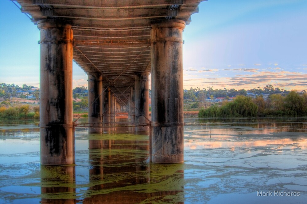 Lost Temples - The River, Murray Bridge, South Australia by Mark Richards