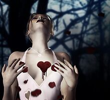 Girl with Bloody Heart 2 by AnnArtshock