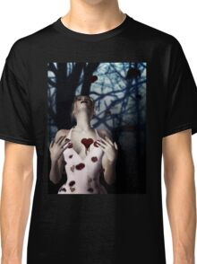 Girl with Bloody Heart 2 Classic T-Shirt