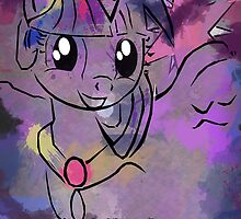Alicorn Princess Twilight Sparkle by MLP-Frank