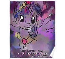 Alicorn Princess Twilight Sparkle Poster