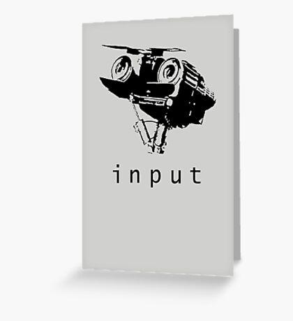 Input Greeting Card
