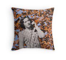 Calling All Butterflies Throw Pillow