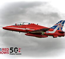 2014 Red Arrows - Duvets,  Phone Cases, Pillows etc by © Steve H Clark Photography
