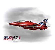 2014 Red Arrows - Duvets,  Phone Cases, Pillows etc Photographic Print