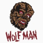 Mani-Yack Wolf Man Shirt by monsterfink