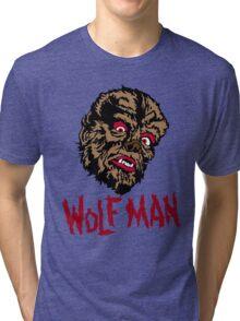 Mani-Yack Wolf Man Shirt Tri-blend T-Shirt