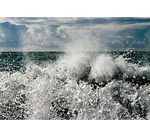 Wave to Me Photographic Print