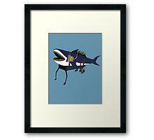 Shark-Walker Mk3 Framed Print