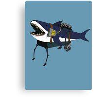 Shark-Walker Mk3 Canvas Print
