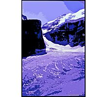 Plain of six Glaciers, Canada Photographic Print