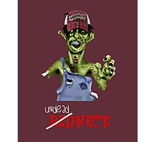 Undead neck Photographic Print