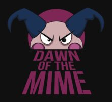 Dawn of The Mime by spazzynewton