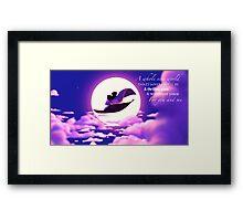Aladdin and Jasmine Framed Print