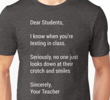 Funny Sarcastic Humor English Teacher Novelty Tee Unisex T-Shirt