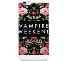 Vampire Weekend Floral Shirt iPhone Case/Skin
