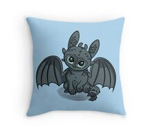 How to Train Your Baby Dragon Throw Pillow