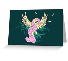 Fluttershy's Flight Greeting Card
