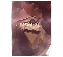 Low Polygon Wrex Poster