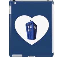 Police Box Heart iPad Case/Skin