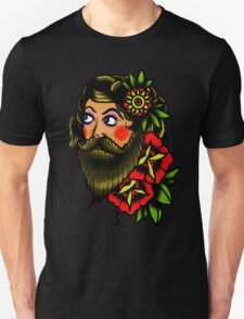 traditional bearded lady T-Shirt